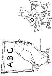 plansa de colorat winnie the pooh de colorat p89