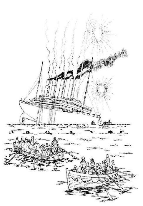 Planse De Colorat Titanic De Colorat P13 Desene De