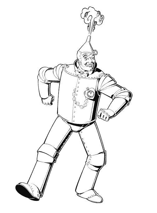 Planse De Colorat Vrajitorul Din Oz De Colorat P15 Desene