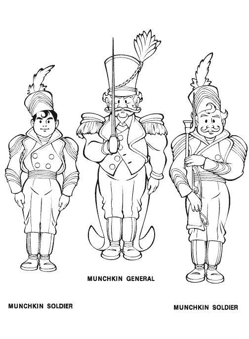 Planse De Colorat Vrajitorul Din Oz De Colorat P16 Desene