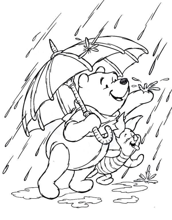 Planse De Colorat Cu Winnie The Pooh Desene De Colorat Cu